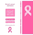 Pink ribbon international symbol of breast cancer