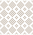 seamless geometrical pattern with circles vector image vector image