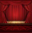 theater concept classic scene vector image