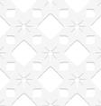 White stars seamless vector image vector image