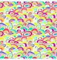 Colorful Abstract Waves Seamless Background vector image vector image