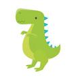 kids toys dinosaur cartoon isolated icon design vector image vector image
