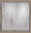 old dark cardboard texture vector image