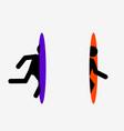 portal icon vector image vector image