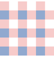 Rose Quartz Serenity White Chessboard vector image