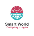 Smart World Design vector image vector image