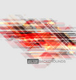 abstract geometric translucent colors on a gray vector image vector image