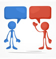 business meeting color vector image