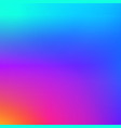 colorful smooth gradient color background vector image