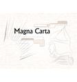 Magna Carta vector image vector image