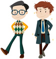 Man in different clothes vector image vector image