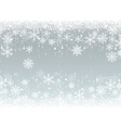 Snowflakes Winter Background vector image vector image