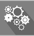tech symbol vector image vector image