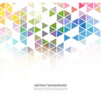Abstract colorful overlapping geometric strip on