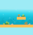 background game on the water style vector image