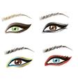 Eyes design art vector image vector image