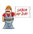 labor day vector image