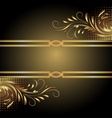 Ornamental Border vector image vector image