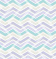 Pastel color zig zag seamless pattern vector image vector image