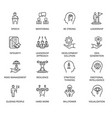 qualities a leader and skills vector image