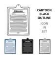 scenariomaking movie single icon in cartoon style vector image vector image