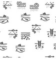 soil ground research seamless pattern vector image vector image