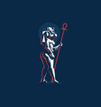 egyptian goddess taweret vector image