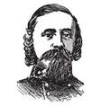 general pickett vintage vector image vector image
