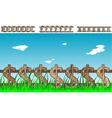 money fence vector image