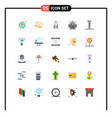 universal icon symbols group 25 modern flat