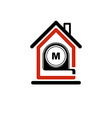Architectural design conceptual symbol simple vector image vector image