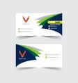 banner corporate design vector image