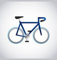 bicycle isolated design vector image