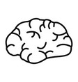 brainstorming icon outline style vector image vector image