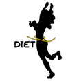 diet body vector image