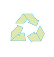 environment care symbol to protection of nature of vector image vector image