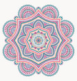 mandala design element round ornament vector image