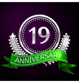 nineteen years anniversary celebration with silver