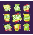 Sale banner isolated set vector image vector image