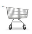 Supermarket Trolley vector image