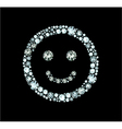 Diamond Smile vector image vector image