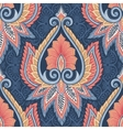 Ethnic floral pattern vector image vector image