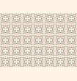 ornamental decorative seamless pattern vector image