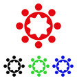 union corporation icon vector image vector image
