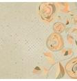 Vintage Floral Background vector image
