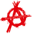 anarchy forever vector image vector image