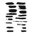 brush strokes vector image