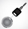 Car key vector image