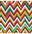 chevron uneven pattern vector image