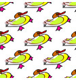 seamless duck pattern with bright yellow image vector image